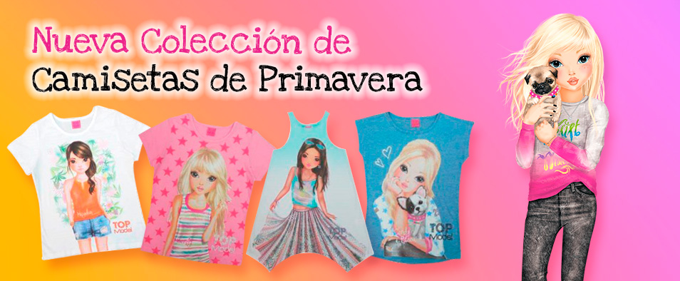 Camisetas Top Model de Primavera