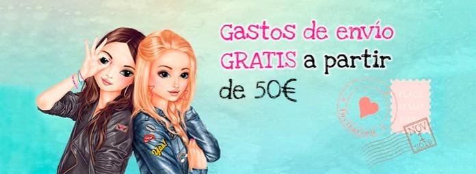 Gastos envío gratis a partir de 50€