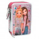 Estuche triple TopModel FRIENDS Rosa