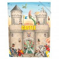 Cuaderno para colorear Create your Castle