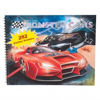 Cuaderno Monster Cars