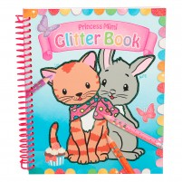Cuaderno para colorear Princess Mimi Glitter Book