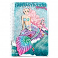 Cuaderno para colorear FantasyModel MERMAID
