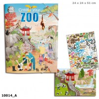 Cuaderno para colorear Create your ZOO