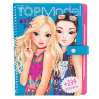Cuaderno Magic-Scratch TopModel