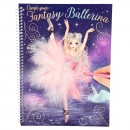 Create Your FantasyModel Colouring Book BALLERINA