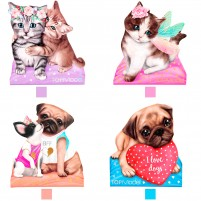 Bloc de notas TopModel Kitty & Doggy