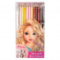 Lápices de colores para piel y pelo TOPModel