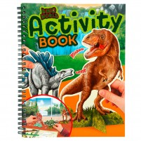 Dino World Activity Book