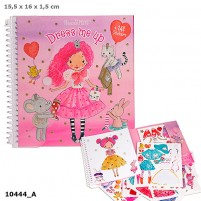 Sticker Book Dress Me Up My Style Princess
