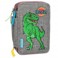 Estuche triple Dino World