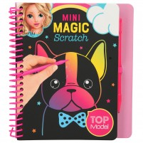 Mini cuaderno Magic-Scratch TopModel DOG