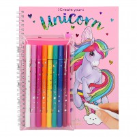 Cuaderno de colorear Ylvi and the Minimoomis Unicornio