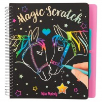 Cuaderno Magic-Scratch Miss Melody
