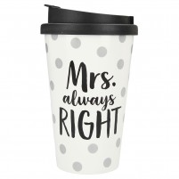 Bidoncito To-Go Mrs. (always) Right