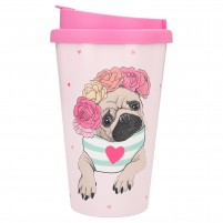 Bidoncito To-Go Pug Dog