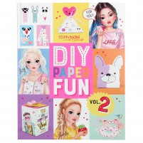 TOPModel DIY Paper Fun Book