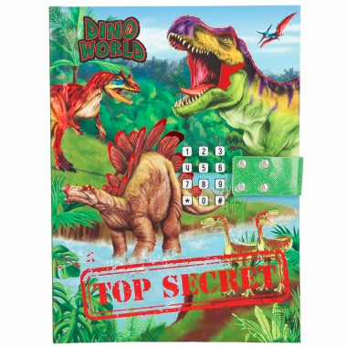 Diario Código Secreto Dino World