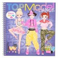 Cuaderno con calcomanías TOPModel Dress me Up DANCE