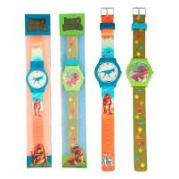 Dino World reloj de pulsera de silicona