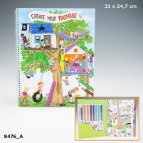 Create Your Tree House Colouring Book