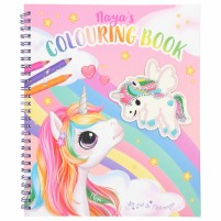 Ylvi libro de colorear con unicornio y lentejuelas