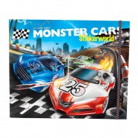 Monster Cars Stickerwold
