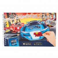 Cuaderno Colorear Monster Cars