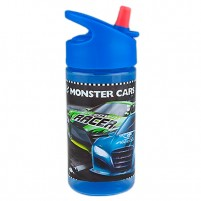 Bidón plástico Monster Cars
