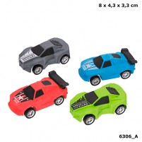 Goma de borrar 3D Monster Cars