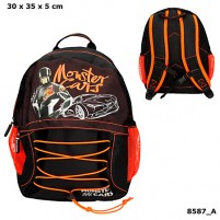 Mochila Monster Cars